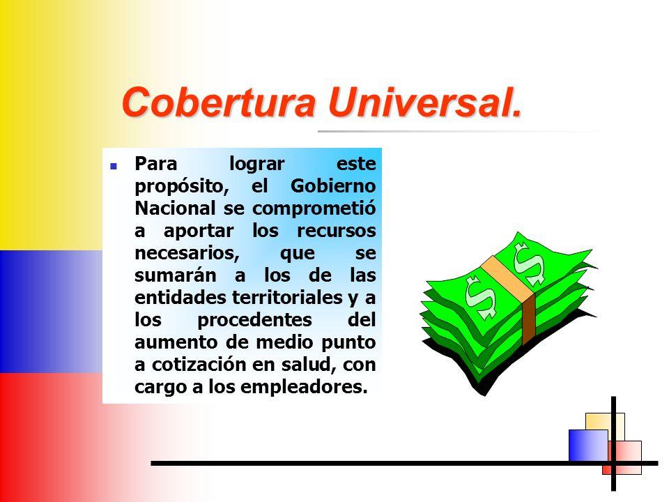 Cobertura Universal.