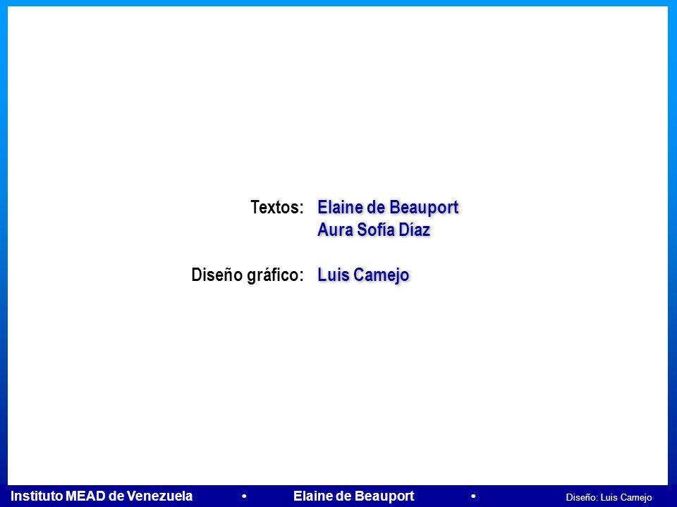 Instituto MEAD de Venezuela Elaine de Beauport Diseño: Luis Camejo ACCIÓN Neocorteza Hemisferio Izquierdo Neocorteza Hemisferio Izquierdo Neocorteza H