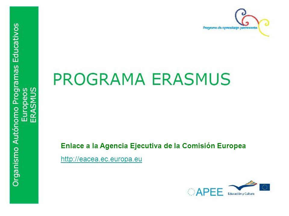 Enlace a la Agencia Ejecutiva de la Comisión Europea http://eacea.ec.europa.eu