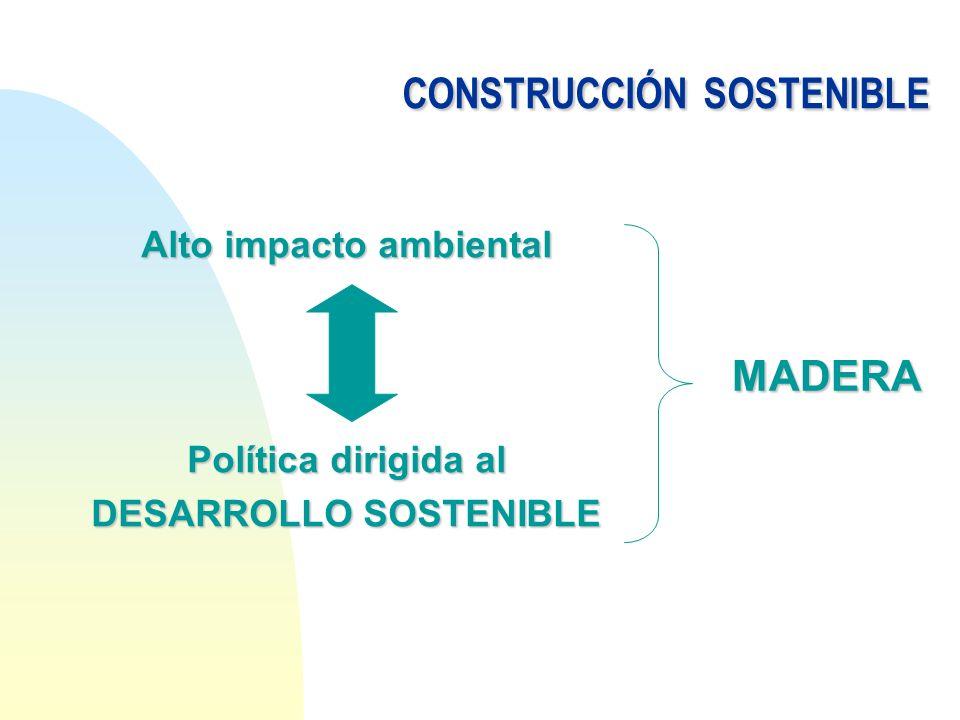CONSTRUCCIÓNSOSTENIBLE CONSTRUCCIÓN SOSTENIBLE n La construcción sostenible, parte de una visión equilibrada e integrada de tres ejes fundamentales: AMBIENTALMENTE APROPIADO ECONOMICAMENTE VIABLE SOCIALMENTE BENEFICIOSO