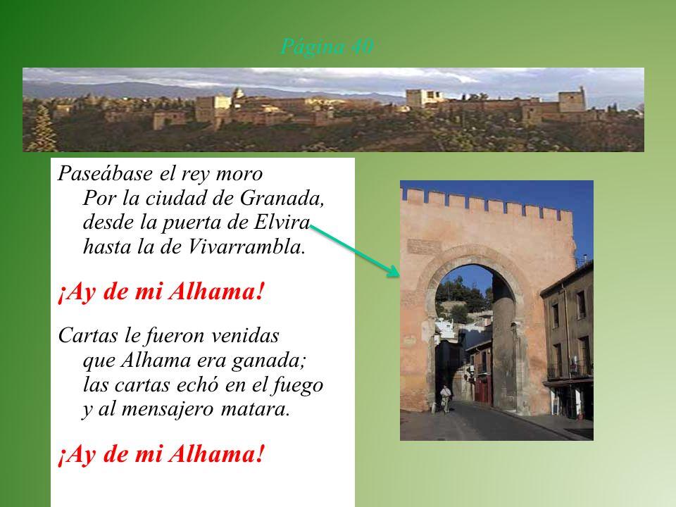 Romance del rey moro que perdió alhama Por: Anonimo De: España