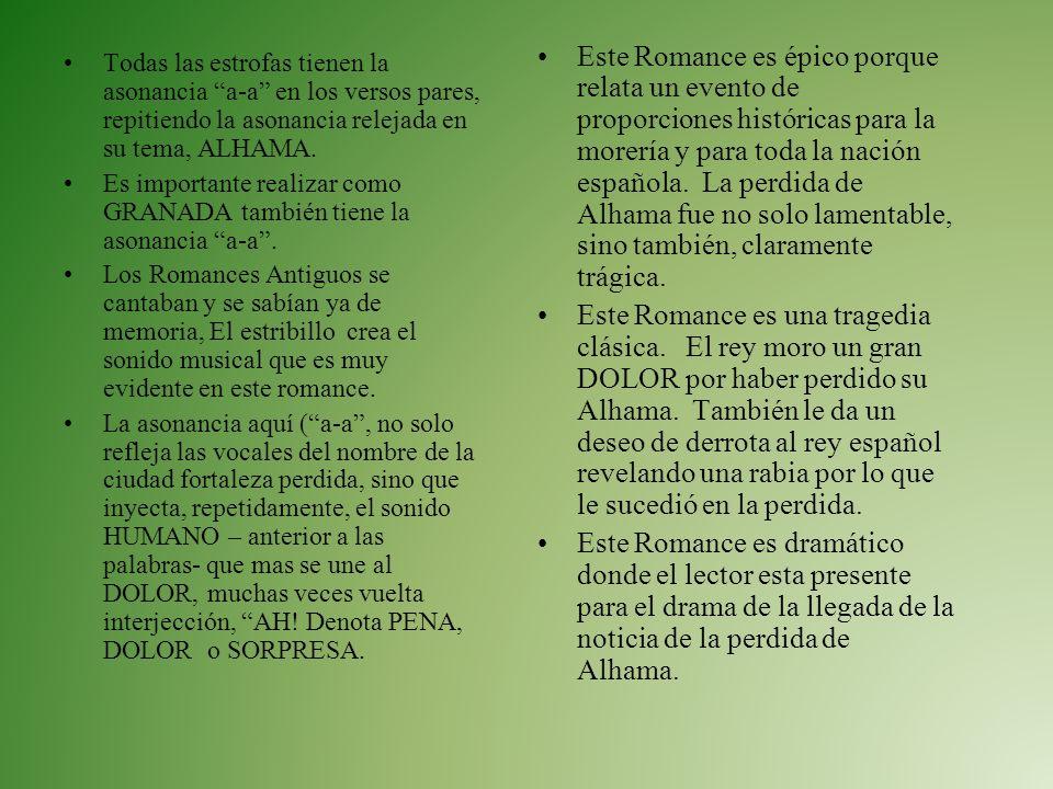 Analisis del poema Un poema romance histórico sobre la guerra de Granada donde los moros y judíos fueron echados fuera porque no eran Cristianos La es