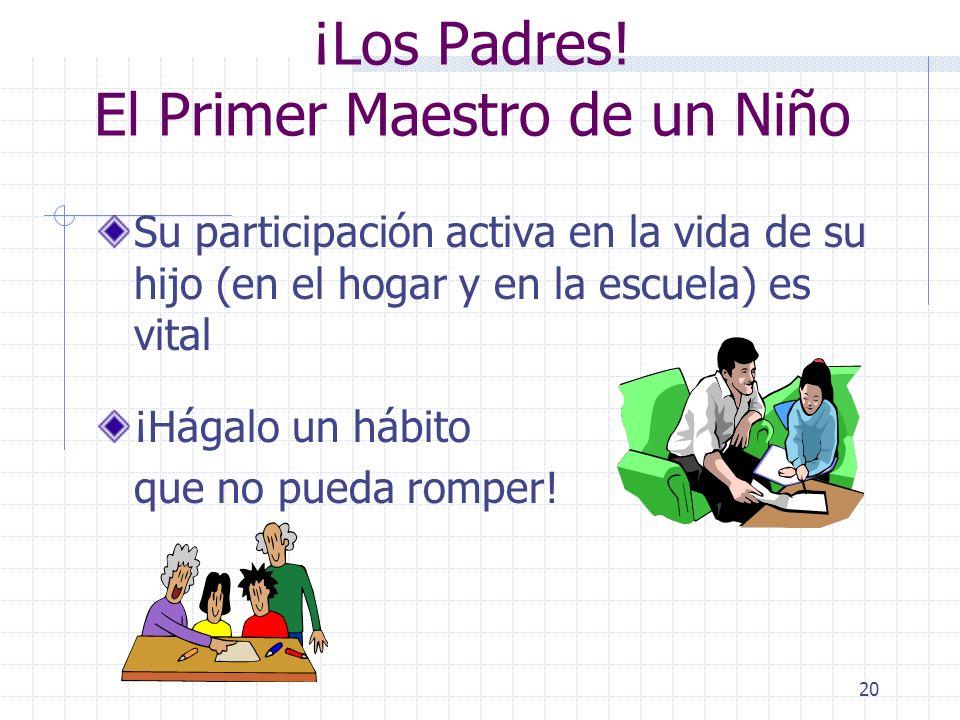 19 Recursos para Padres Series de capacitación sobre información de educación especial para los padres en KLCS Sitio de la web de la Oficina de Educac