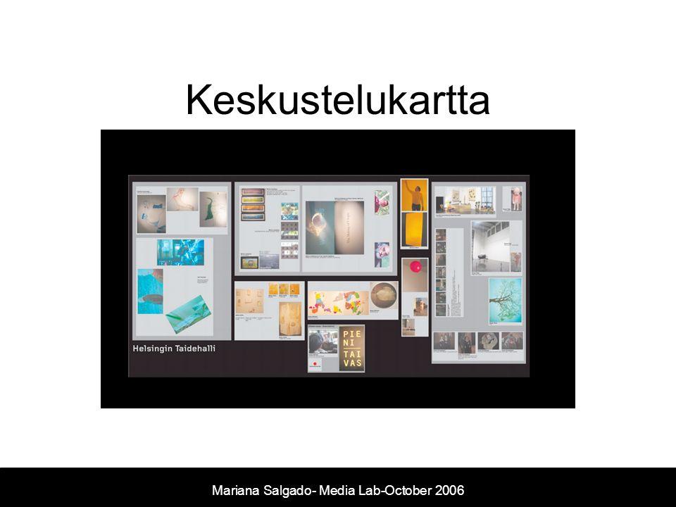 Keskustelukartta Mariana Salgado- Media Lab-October 2006