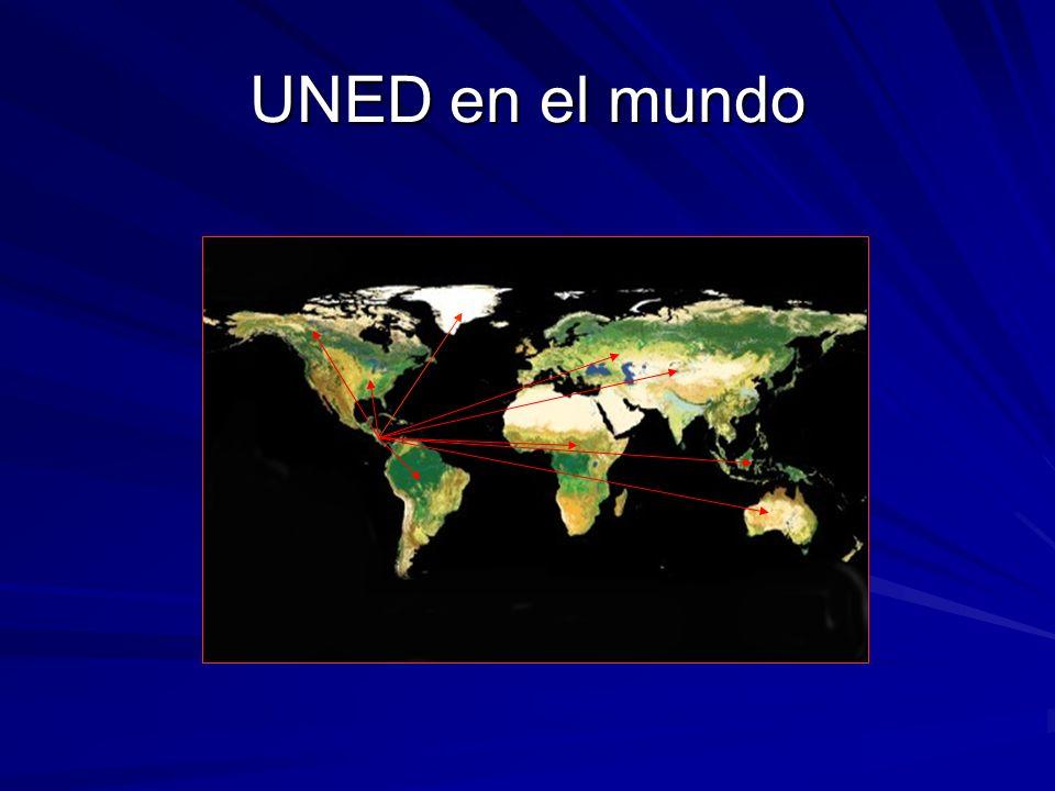 UNED en el mundo