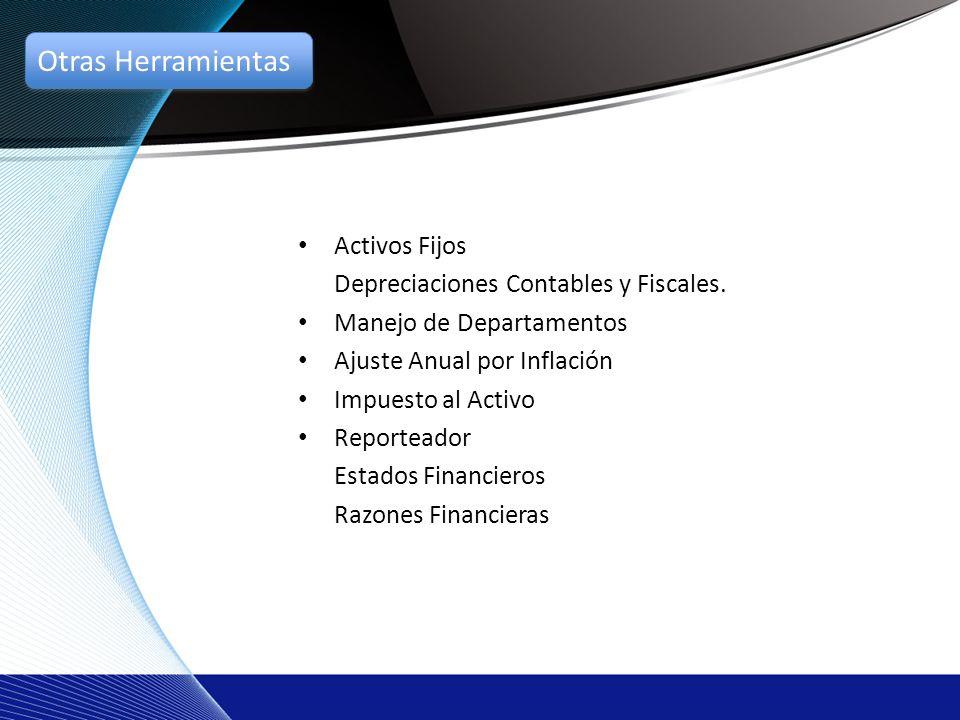 Activos Fijos Depreciaciones Contables y Fiscales.