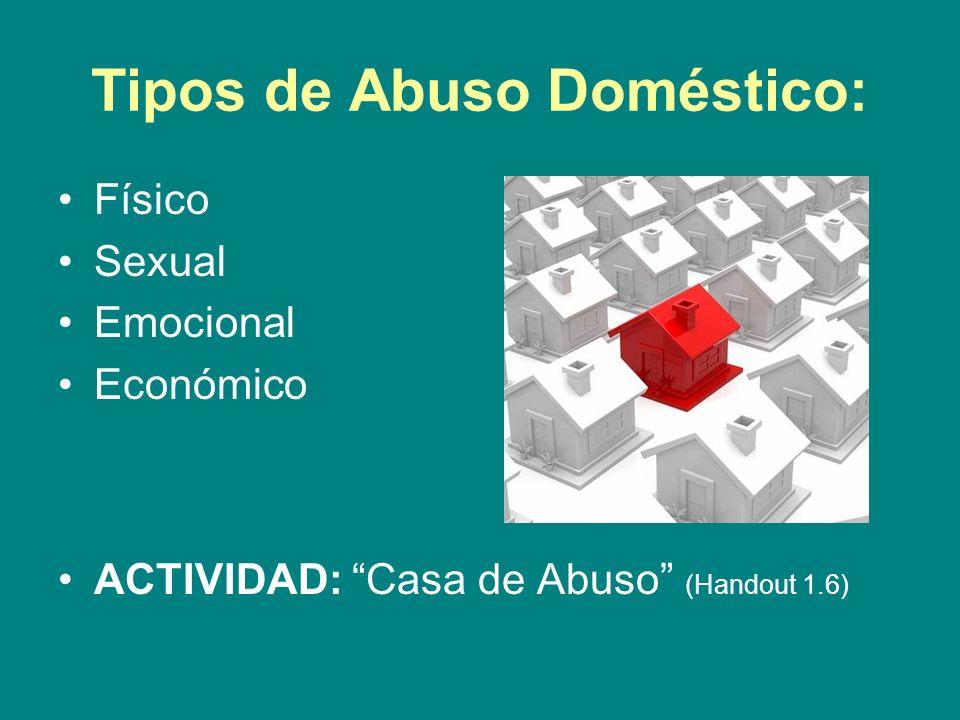 Estadísticas sobre la Violencia Doméstica: Los programas Head Start y Early Head Start reportan que entre 17 y 40% de las familias a quienes sirven se ven afectadas por la violencia doméstica.