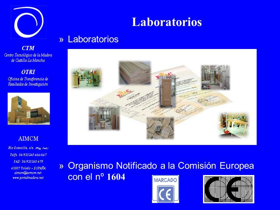 Laboratorios »Organismo Notificado a la Comisión Europea con el nº 1604 »Laboratorios » Puertas » Tableros » Mobiliario » Suelos » Acabados » Microsco