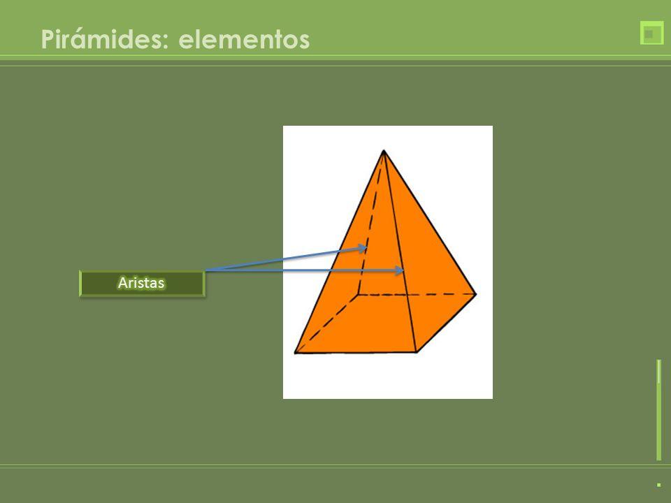 Pirámides: elementos
