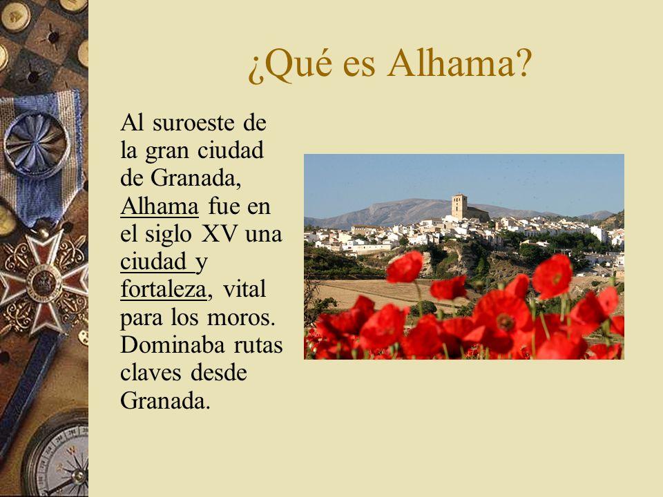En febrero de 1482, Alhama es atacada; un mes después, cae en manos de los Reyes Católicos.