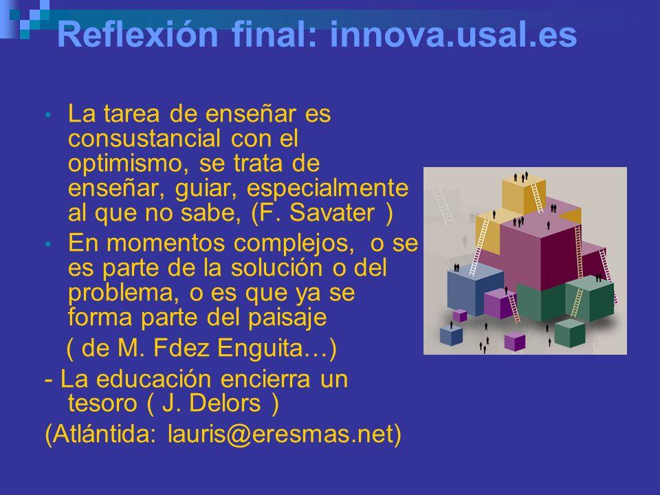http://innova.usal.es http://innova.usal.es/ REDES