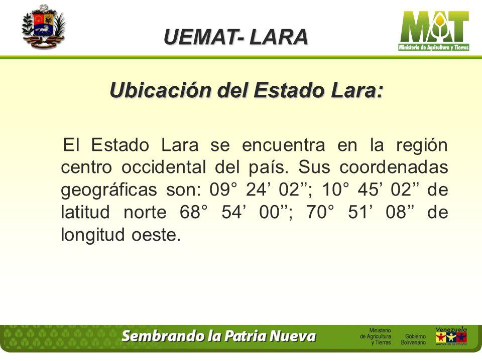 UEMAT- LARA Articulo 1o.