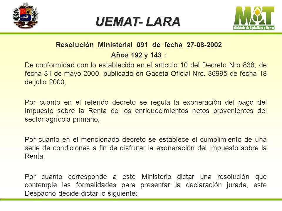 UEMAT- LARA Articulo 13. El incumplimiento de alguno de los deberes, requisitos, obligaciones y condiciones, por parte de los beneficiarios, ocasionar