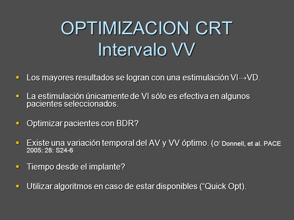 Los mayores resultados se logran con una estimulación VIVD. Los mayores resultados se logran con una estimulación VIVD. La estimulación únicamente de