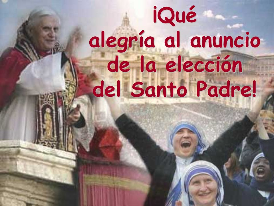 Releamos el discurso pronunciado por el Santo Padre, al final de su primera Misa de pontificado Venerados hermanos cardenales, amadísimos hermanos y hermanas en Cristo, todos vosotros, hombres y mujeres de buena voluntad, gracia y paz en abundancia a todos vosotros.