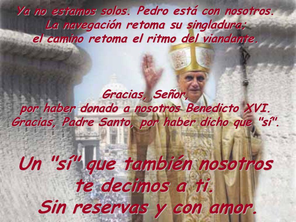 Custodia, Señor, al nuevo Pastor, ilumínalo en sus elecciones, dale tu corazón para que ame como tú nos amas.