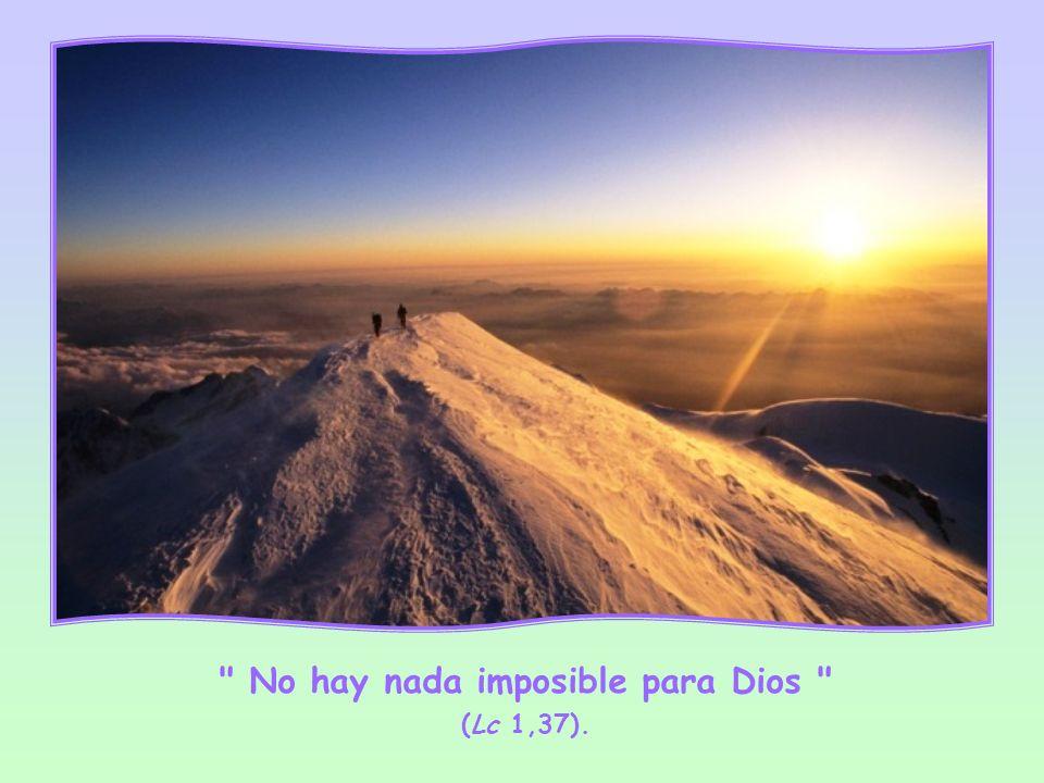Repitiendo que no hay nada imposible para Dios en los momentos más críticos, la Palabra de Dios nos dará esa energía que encierra en sí, haciéndonos p