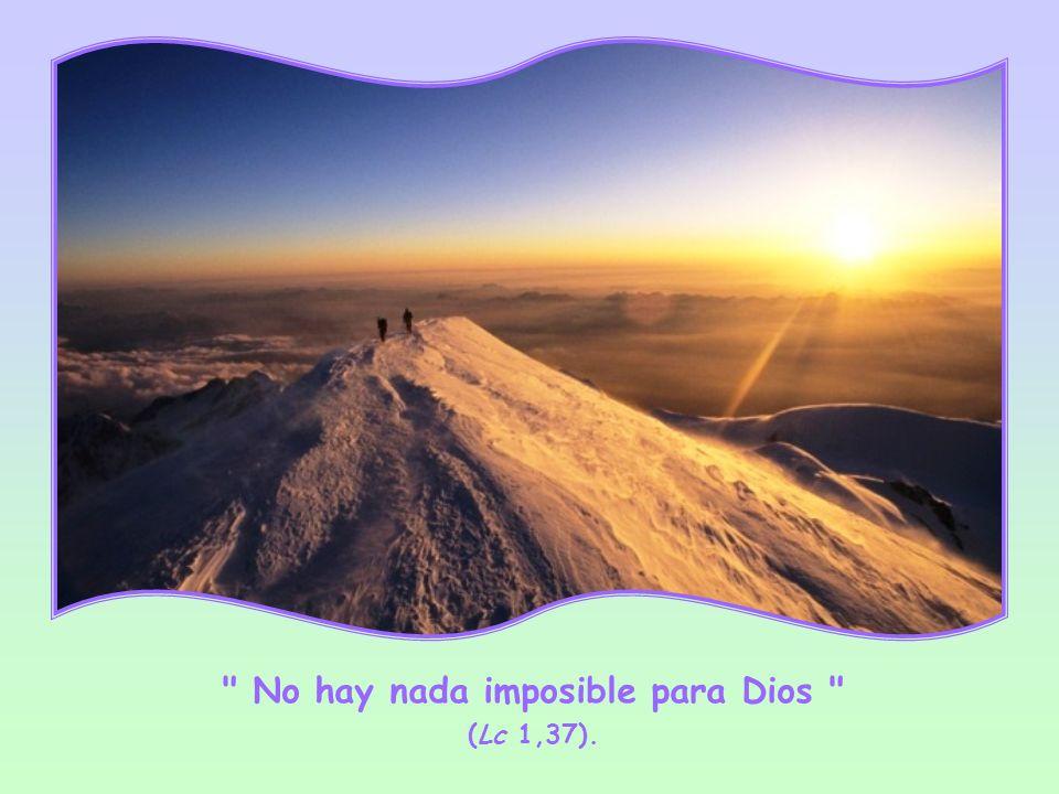 Hay un solo límite a la omnipotencia de Dios: la libertad humana, que puede oponerse y convertir al hombre en impotente, cuando estaba llamado a compartir la fuerza de Dios.