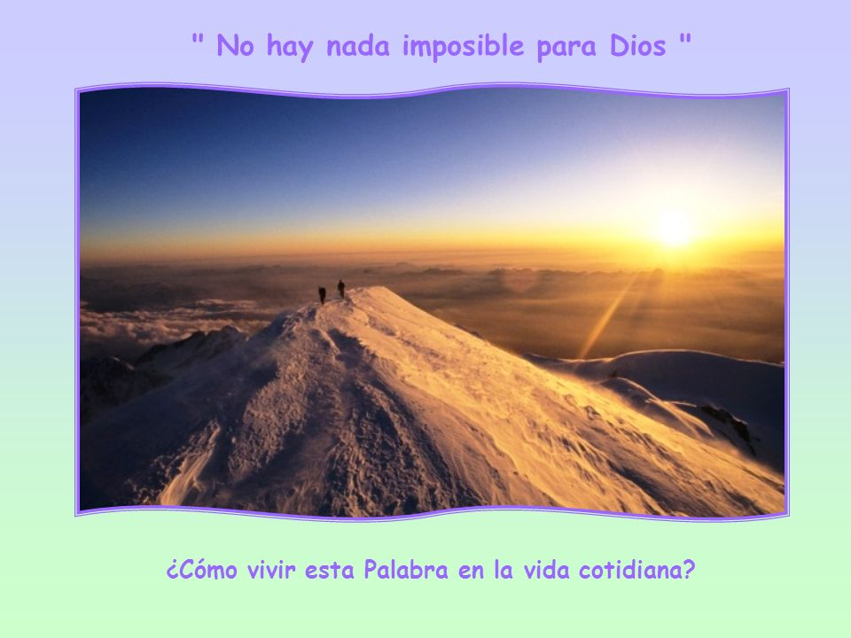 Todas las gracias están en su poder: temporales y espirituales, posibles e imposibles. Y Él da a quien le pide y también a quien no pide, porque, como