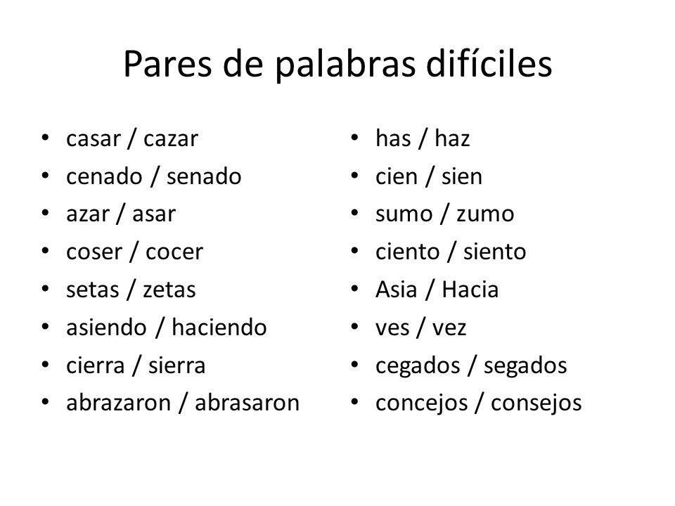 -ción -ción o -sión-sión If the noun keeps the – sa of the original verb Derived from words / verbs with a /ct/ sound Derived from verbs: - der, -dir,-ter, -tir Derived from verbs -sar