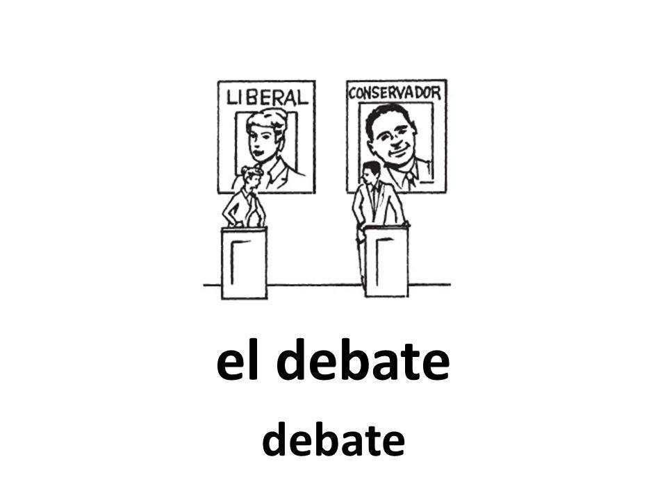 el debate debate