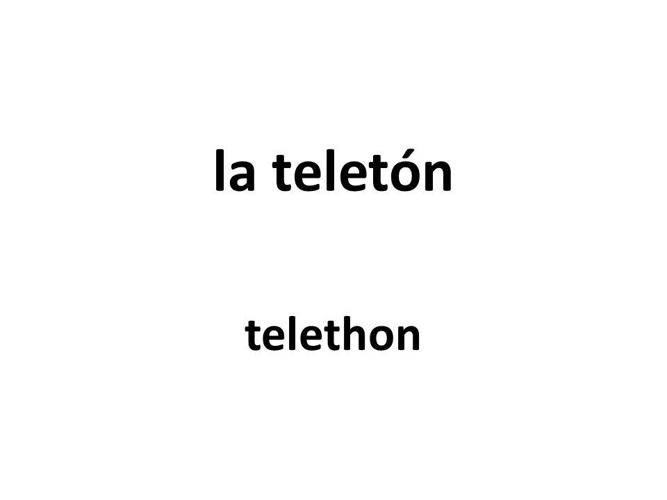 la teletón telethon