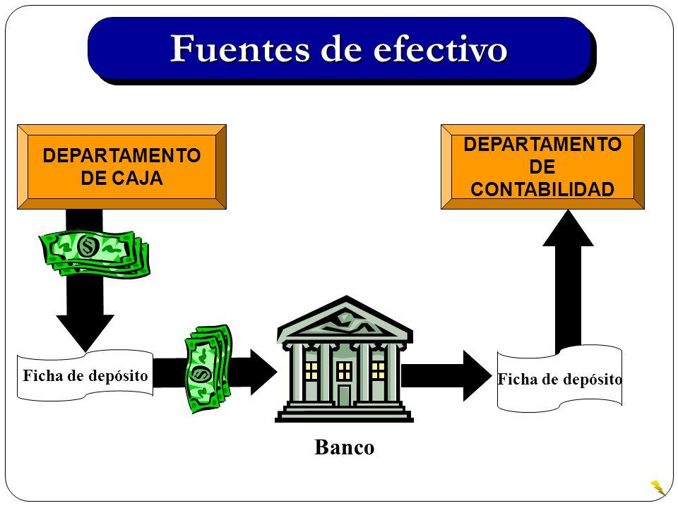 Control del efectivo recibido El manejo del efectivo es clave para cualquier negocio, ya que es el lubricante que hace funcionar la empresas.
