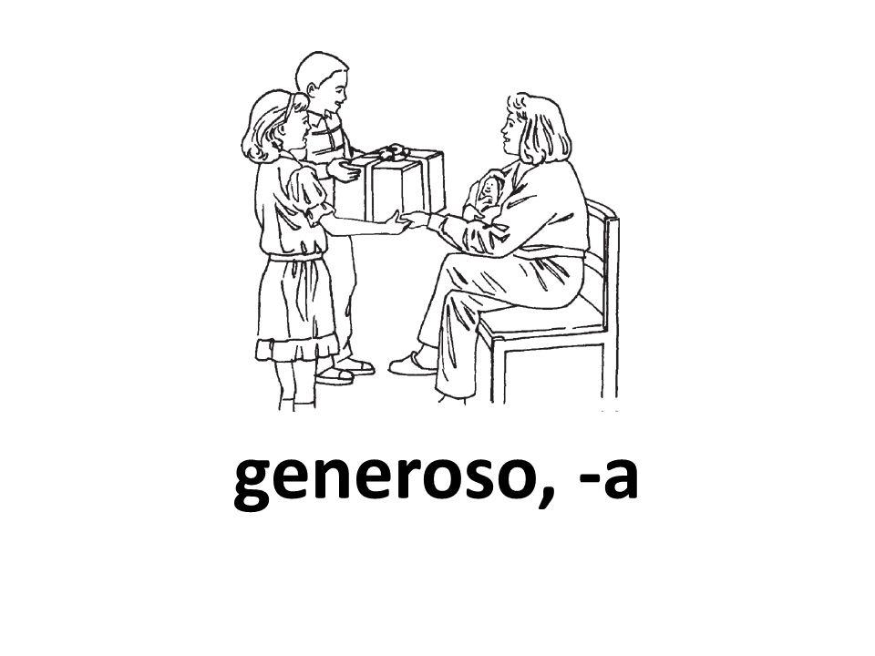 generoso, -a