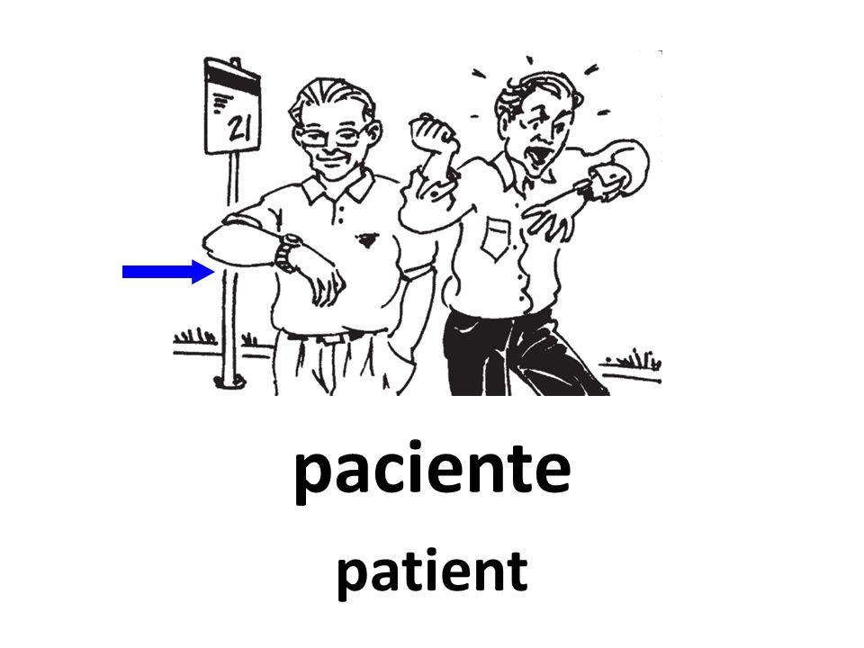 paciente patient