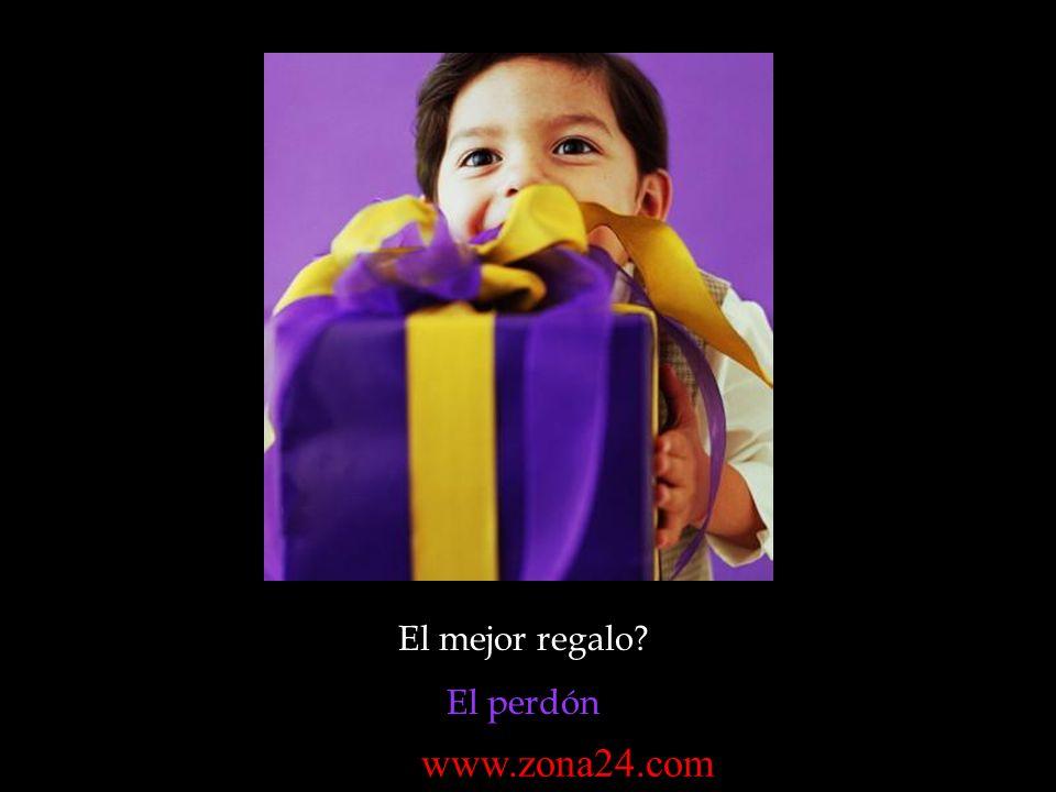 El mejor regalo? El perdón www.zona24.com