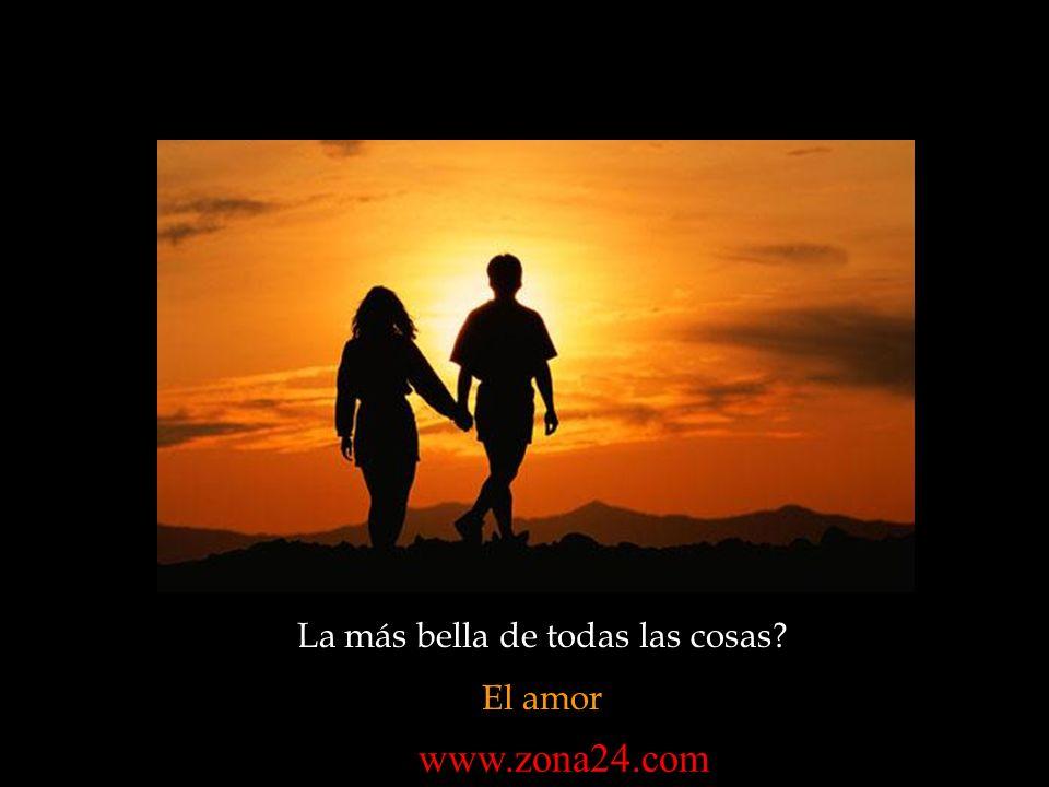 La más bella de todas las cosas? El amor www.zona24.com