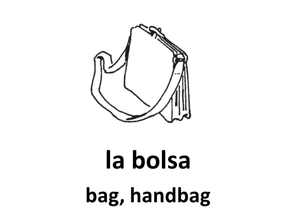 la bolsa bag, handbag