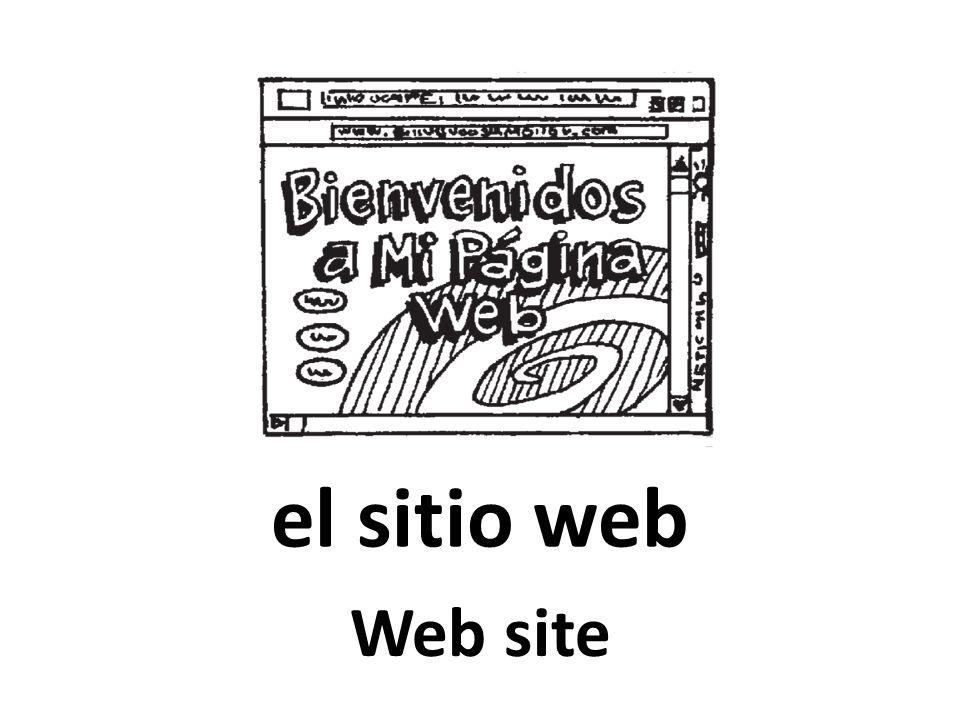 el sitio web Web site