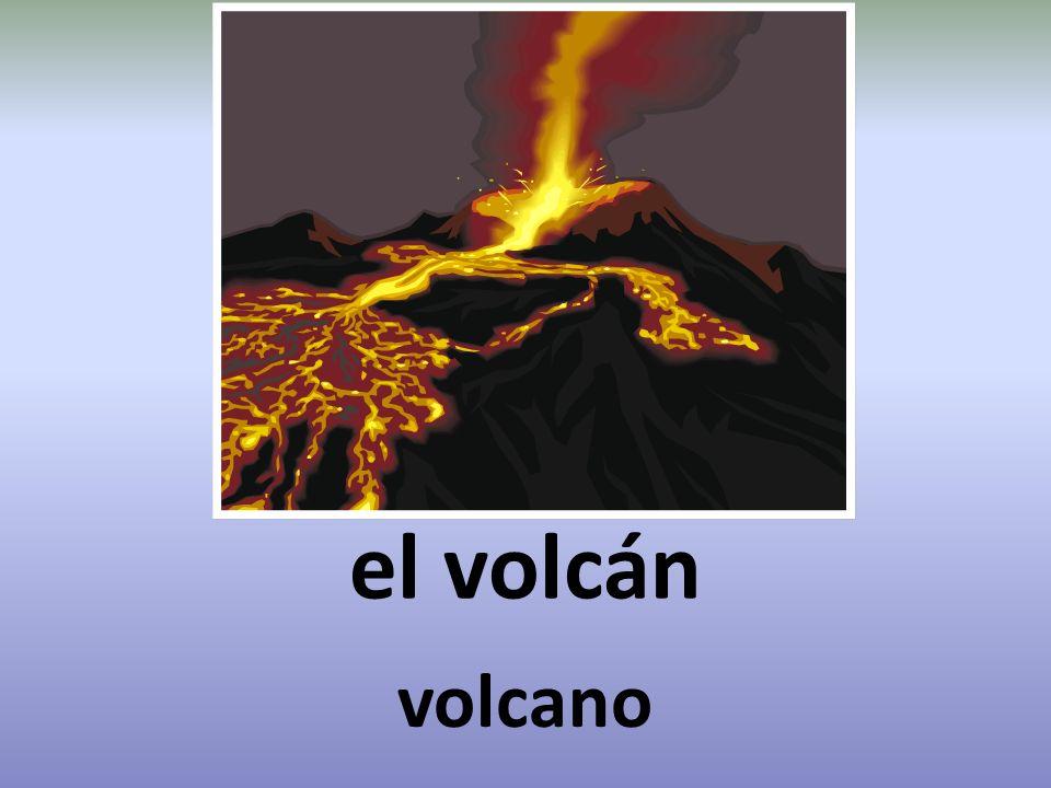 el volcán volcano