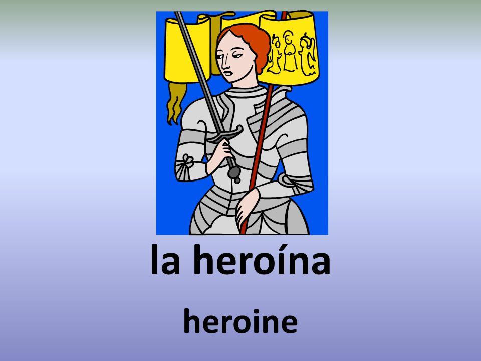 la heroína heroine