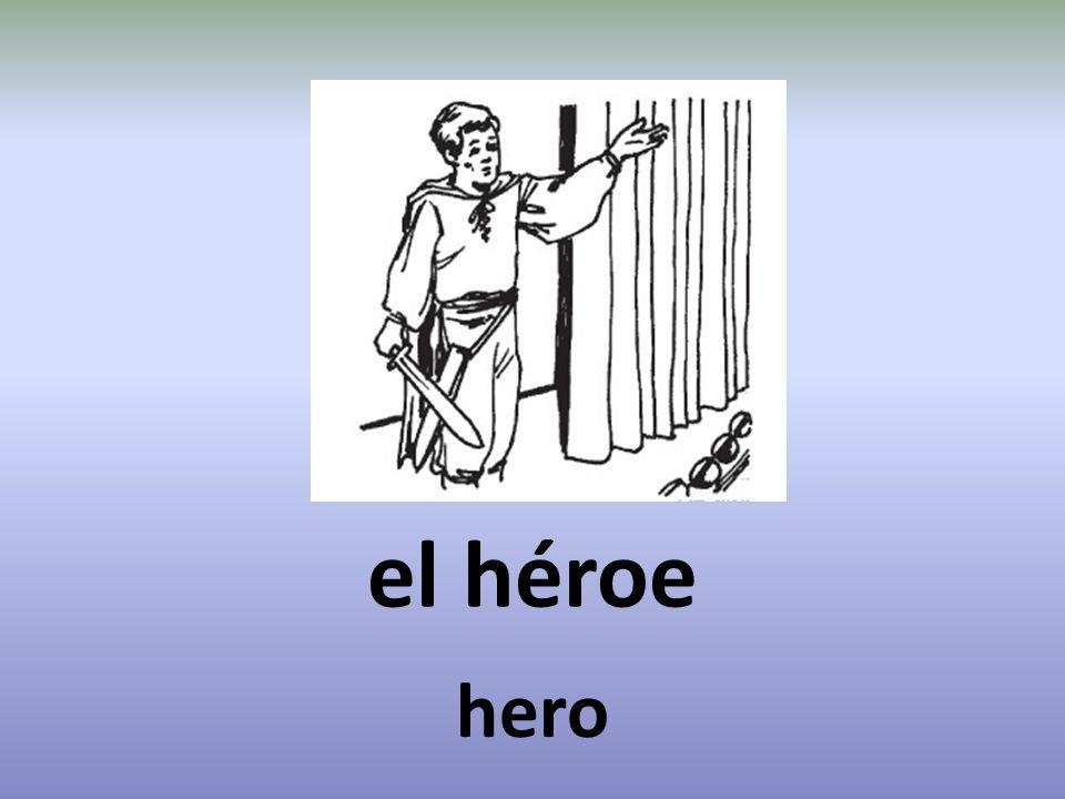 el héroe hero