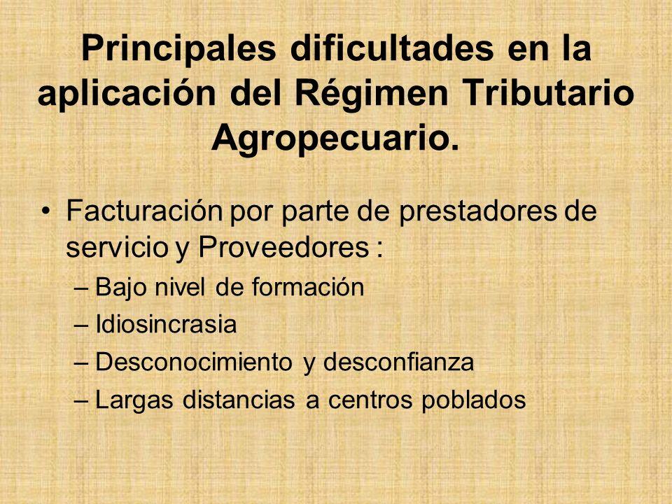 Situación de la actividad Agropecuaria en Venezuela Sacrificio Fiscal: –Para 1996, 68.300 millones (3.1% de 2.2 Billones) –Alta relación de costo/beneficio.