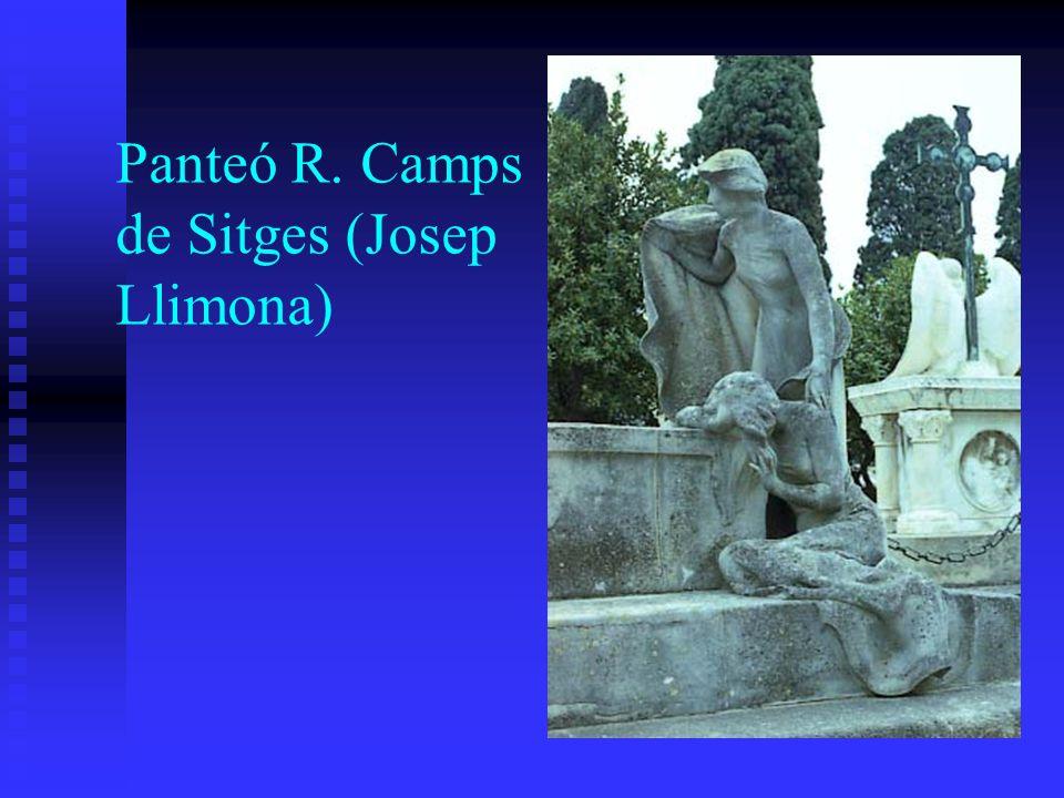 Panteó R. Camps de Sitges (Josep Llimona)
