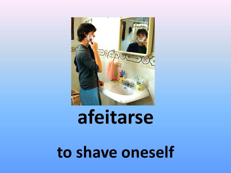 levantarse to get oneself up