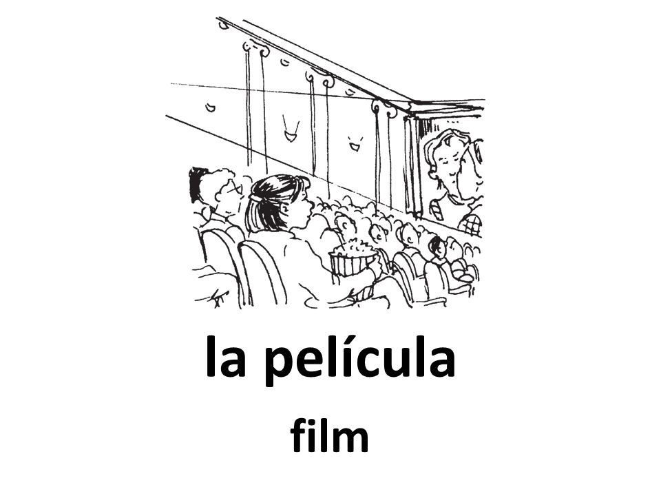 la película film