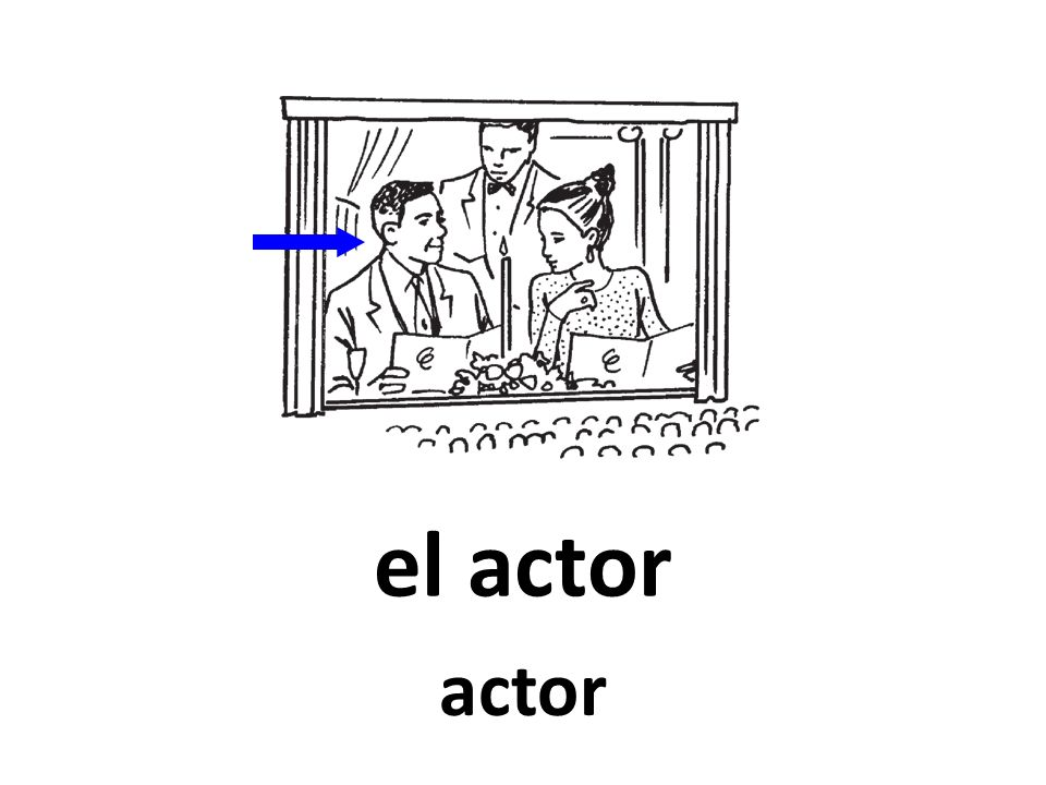 el actor actor