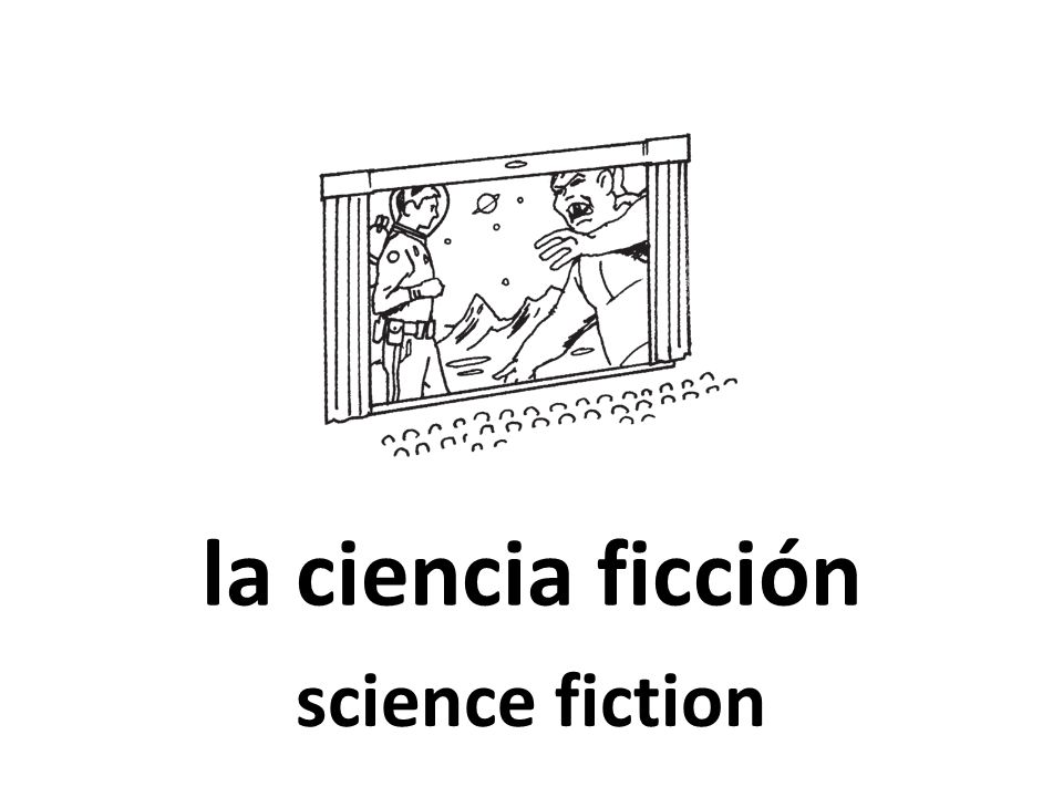 la ciencia ficción science fiction