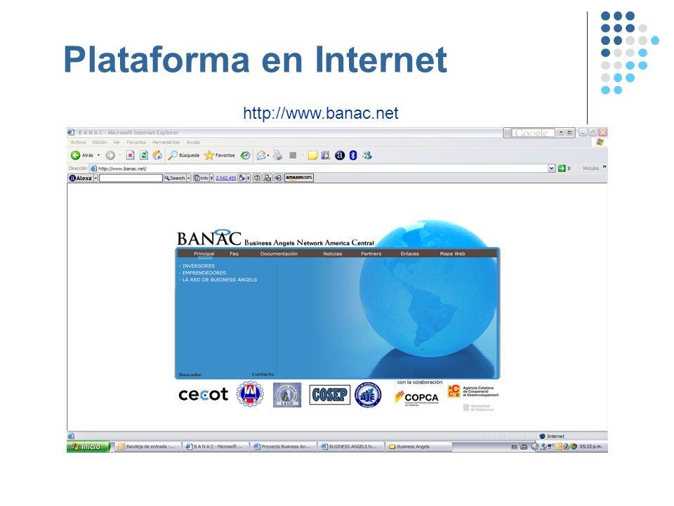 Plataforma en Internet http://www.banac.net