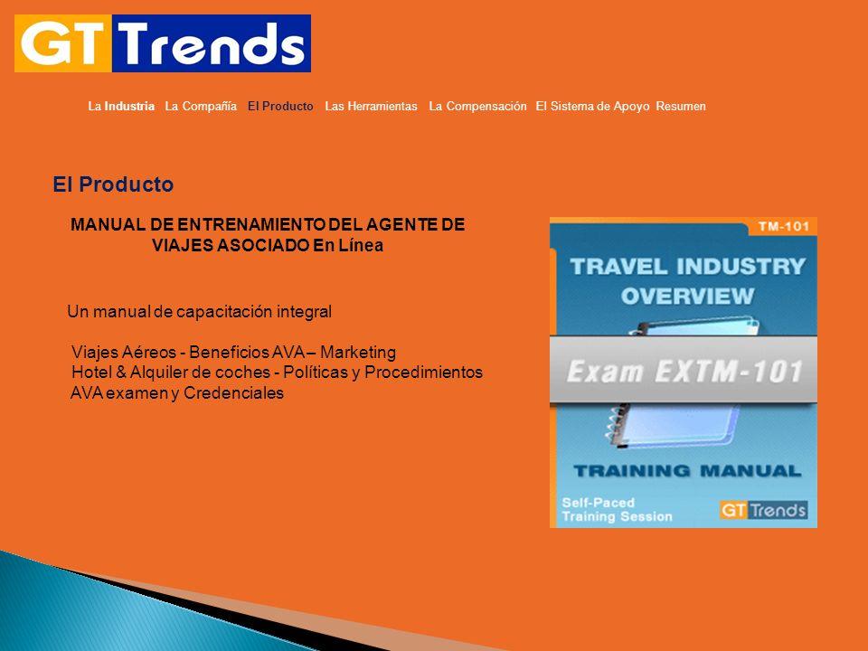 MANUAL DE ENTRENAMIENTO DEL AGENTE DE VIAJES ASOCIADO En Línea El Producto Un manual de capacitación integral Viajes Aéreos - Beneficios AVA – Marketi