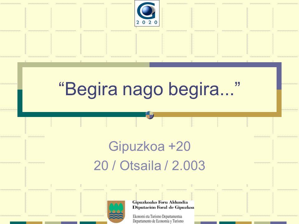 Begira nago begira... Gipuzkoa +20 20 / Otsaila / 2.003