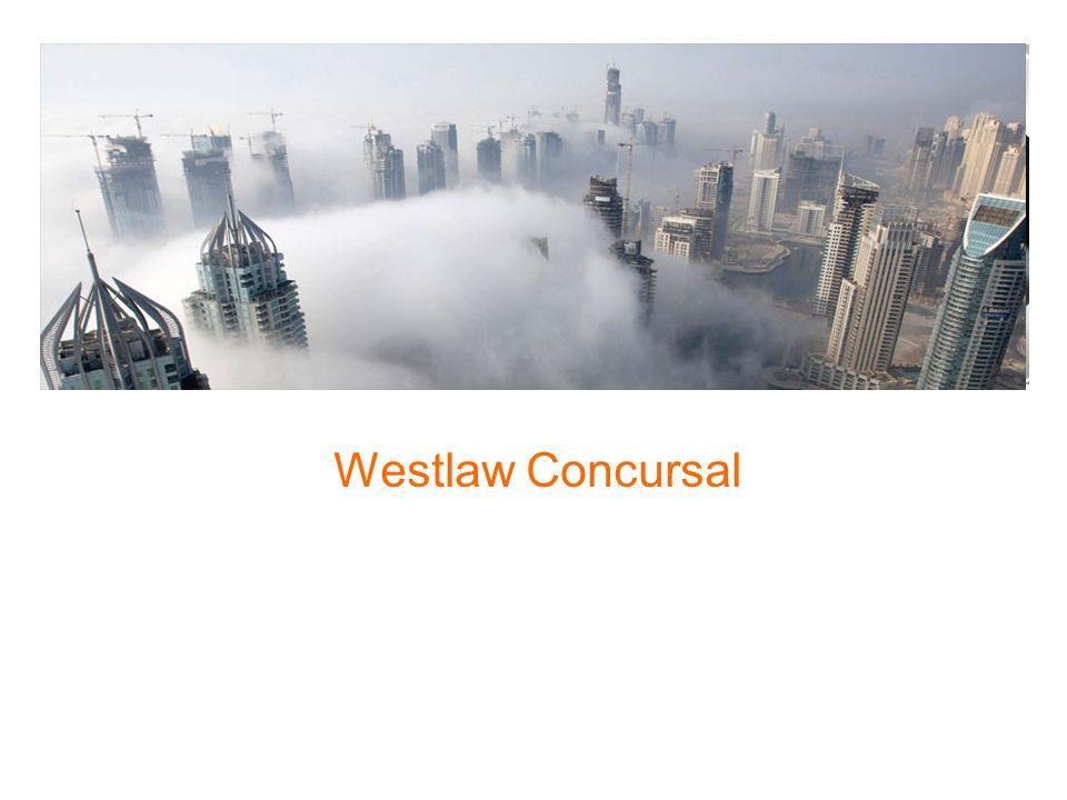 Westlaw Concursal