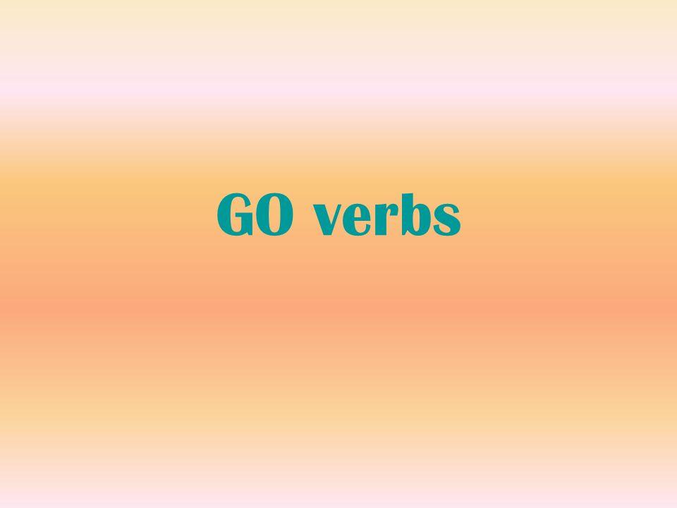 GO verbs