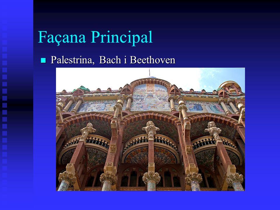Façana Principal Palestrina, Bach i Beethoven Palestrina, Bach i Beethoven