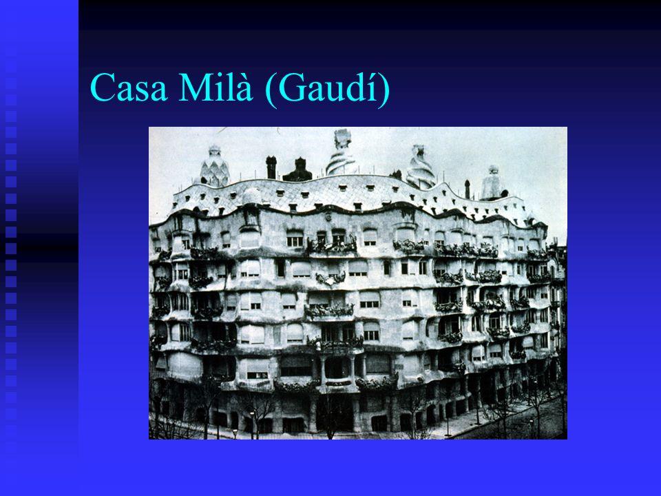 Casa Milà (Gaudí)