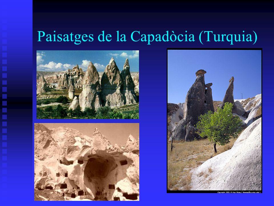 Paisatges de la Capadòcia (Turquia)